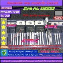 Aoweziic 2019 + 100% novo importado original irfb3077pbf irfb3077 fet n canal 75 v 210a