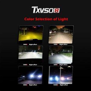 Image 4 - TXVSO8 Mini H7 Xenon Umwandlung Birne 12V Auto Scheinwerfer Kit Hohe Qualität Auto lampen 4300K 6000K 8000K 12000K 2020 VERSTECKTE Lichter