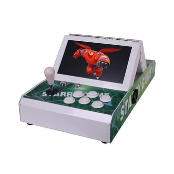 Arcade video game machine console with Pandora's Box 6 game board ,Double arcade game console цена 2017