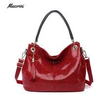 Fashion Leather Women Handbags Tassel Shoulder Bags Big Tote