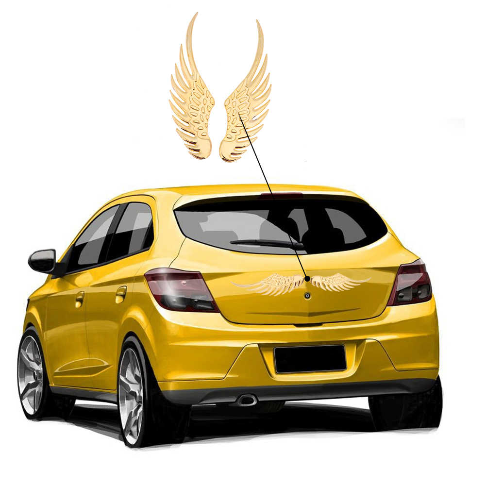 1 paire mode 3D ailes voiture autocollant pour Opel Astra VAUXHALL MOKKA Zafira Insignia Vectra Antara