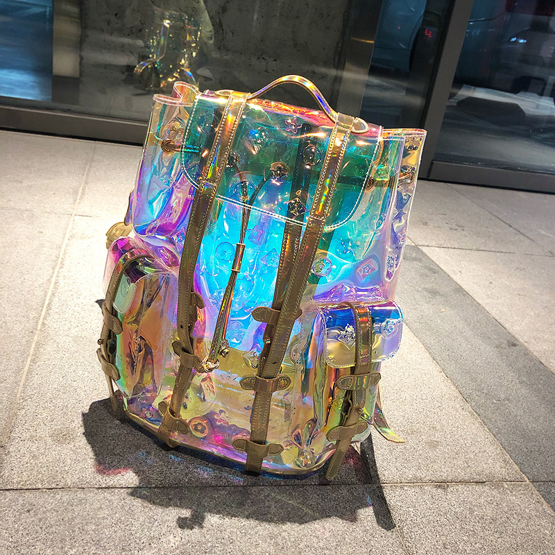 Laser Sympony Hologram Holographic Shoulders Backpack Bags Cool Chic Colorful Fashion Shoulder Bags Valentine's Day Gift