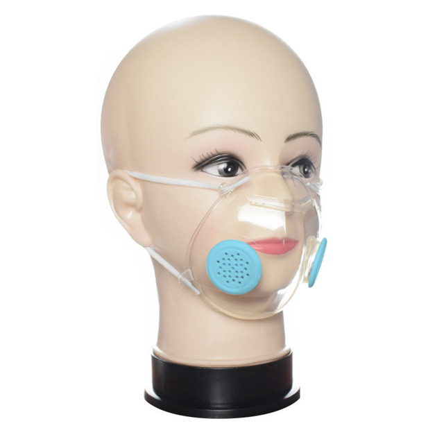 $ US $17.16 Reusable TPU Transparent Face mask PM2.5 Respirator Anti pollution Masks Breathable 100pcs 4 ply filter protection mouth masks