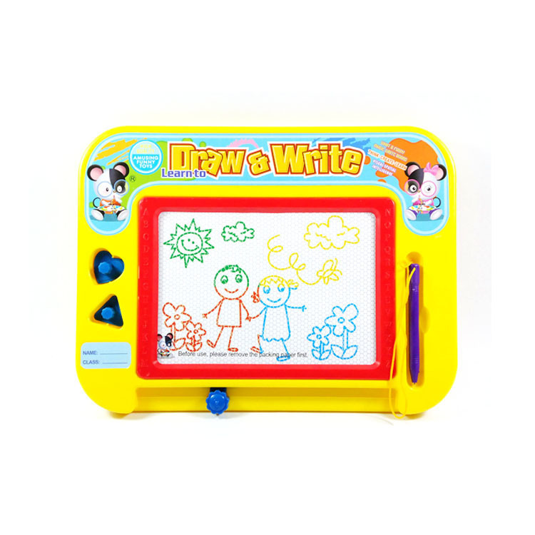 Little Toys Qiqu Toys Magnetic Drawing Board Color Drawing Board Baby Learning Educational Toy Wholesale