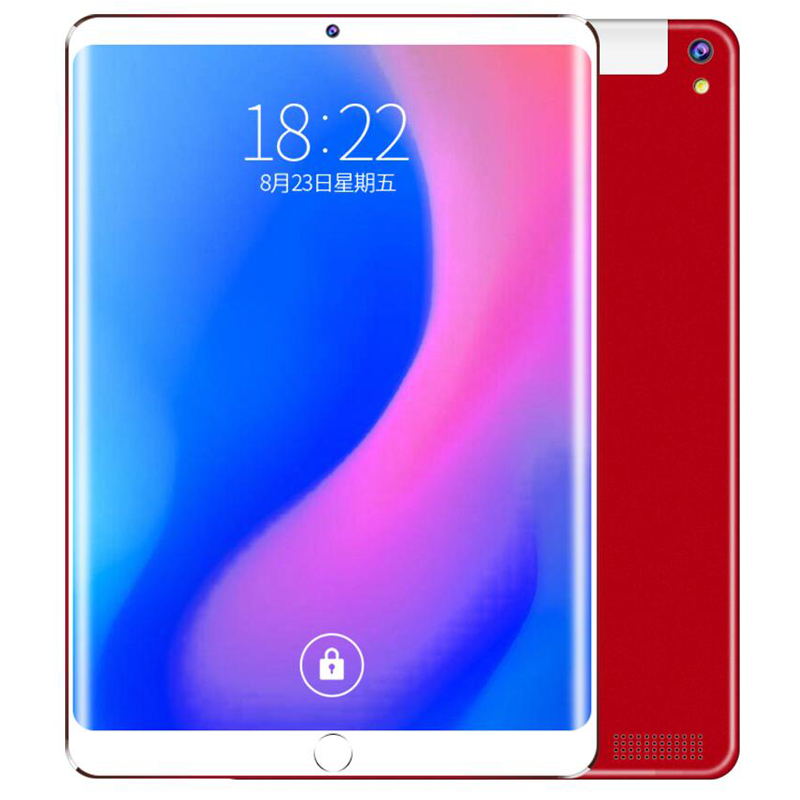 T805C Android 9.0 2.5D Screen Tablet Pcs 10.1 Inch 4G LTE Tablet PC  10 Core RAM 6GB ROM 64GB 128GB Tablets Kids Tablet FM GPS