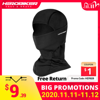 HEROBIKER Balaclava Motorcycle Face Mask Fleece Motorcycle Thermal Face Windproof Cold-proof Autumn Winter Motorcycle Mask autumn whitefield madrano face value