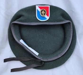 Tomwang2012 Us Army 11th siły specjalne grupa wełna zielony Beret i działania specjalne odznaka odznaka insygnia czapka wojskowa tanie i dobre opinie CINESSD Stałe Termiczne Z wełny