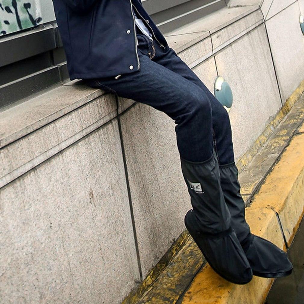 Wasserdicht Schuh Abdeckungen Wasserdicht Wiederverwendbare Motorrad Radfahren Bike Boot Regen Schuhe Abdeckungen Mit Relectors