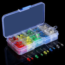 300pcs Accessories Led DIY Repair Assortment Electrical Appliances 3MM 5MM Ultra Bright Office Home Light Emitting Diode Kit(China)