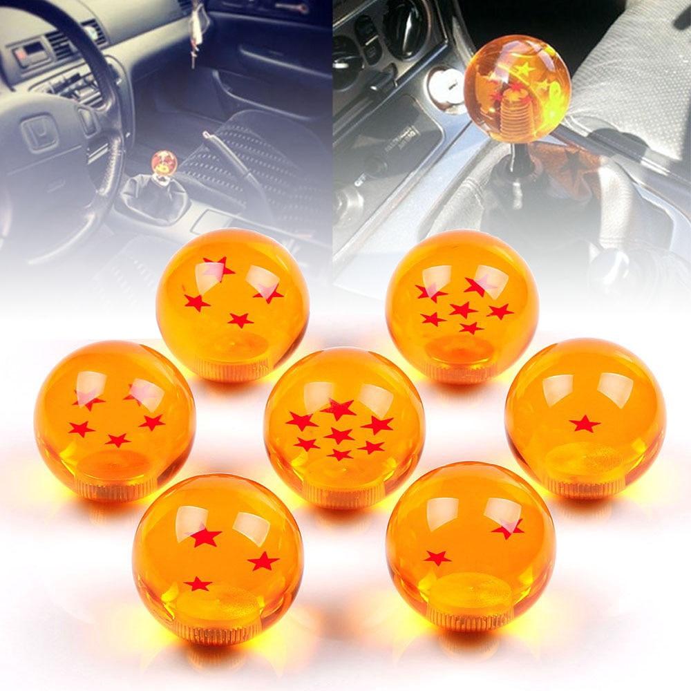 Universal Dragon Ball  Super Gear Shift Knob 57mm Round Animation Diameter 1-7 Star