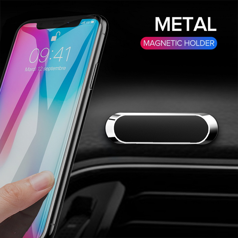 GETIHU Мини магнитный автомобильный держатель телефона металлические магнитные пластины сотовая подставка для iPhone samsung Xiaomi в автомобиль креп...