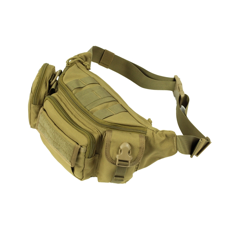 Sports Diagonal Cross Chest Pack Outdoor Riding Shoulder Bag Multi-Function Hiking Pockets