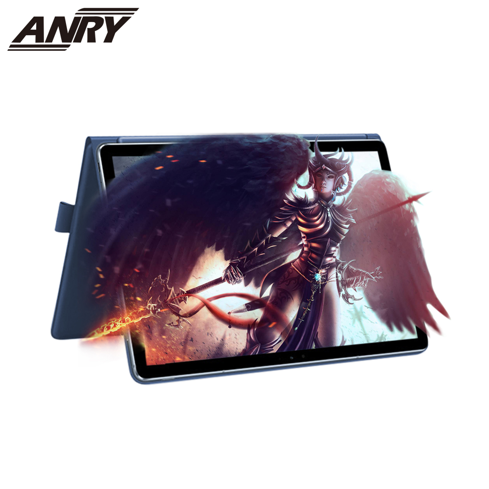 ANRY 11.6 Inch Android Tablet 2 In 1 Touch Screen Laptop 6GB+64GB Deca Core Processor Android 9.0 4G Phone Call 2 In 1 Tablet Pc