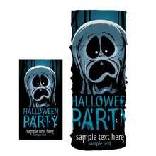 Новый пылезащитный шарф с милым рисунком животного на Хэллоуин