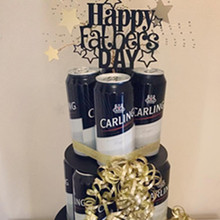 Cupcake Topper Cake-Decorating-Supplies Acrylic Happy-Birthday Dad Party