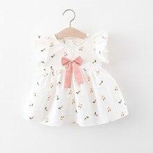Pudcoco White Tutu Princess Baby Dress Toddler Infant