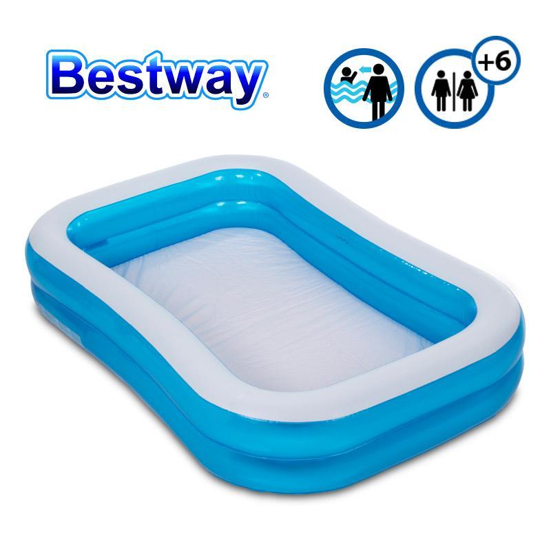 Bestway Family Pool. Piscina De Gran Tamaño Para Niños.