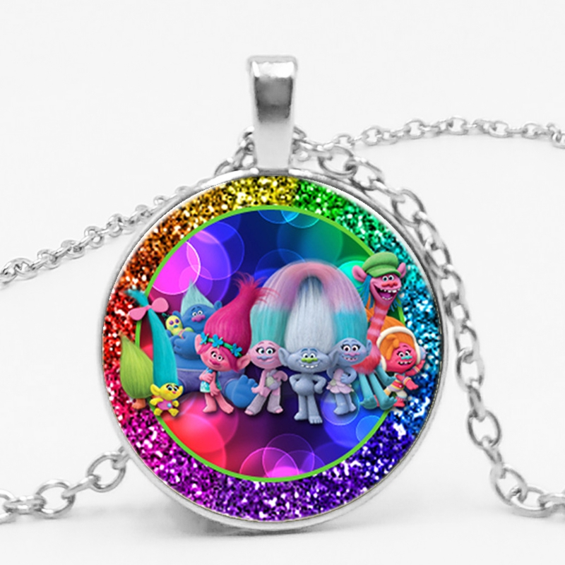 2019 3 Color Dream Factory Magic Elf Cute Anime Glass Pendant Necklace Children Dress Up Toys New Cartoon Gift Jewelry in Pendant Necklaces from Jewelry Accessories