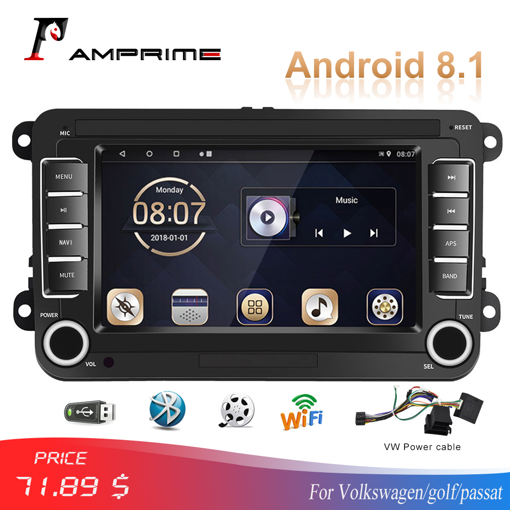 AMPrime Android MP5 <font><b>Multimedia</b></font> Player Auto Radios GPS 7