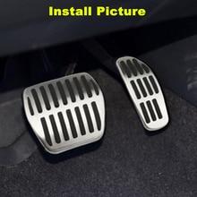 цена на Steel Car Foot Pedal Kit For Nissan X-Trail Qashqai Teana Rogue Sport Kicks For Renault Espace Koleos Kadjar For Infiniti QX50