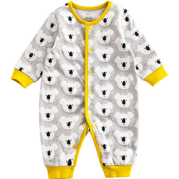 Spring And Autumn Baby Rompers Newborn Baby Clothes For Girls Boys Long Sleeve cotton Jumpsuit Baby Clothing boy Kids Outfits