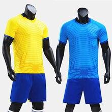 Модные футбольные майки; комплекты для взрослых и детей; футбольные футболки и шорты для мальчиков; спортивные костюмы; Спортивная футболка