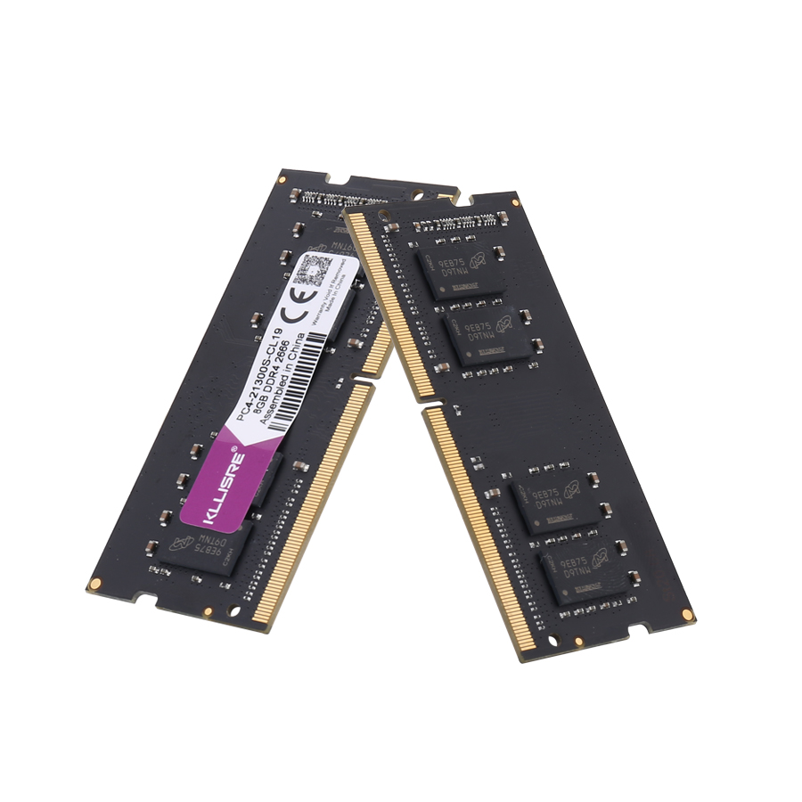Kllisre DDR3 DDR4 8GB 4GB 16GB laptop memory 1333 1600 2400 2666 2133 DDR3L 204pin Sodimm Notebook RAM 1