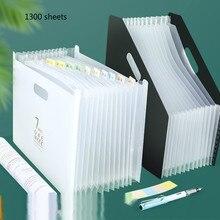 File-Folder Organizer Document-Paper School Expanding-Box Office-Stationery Multilayer