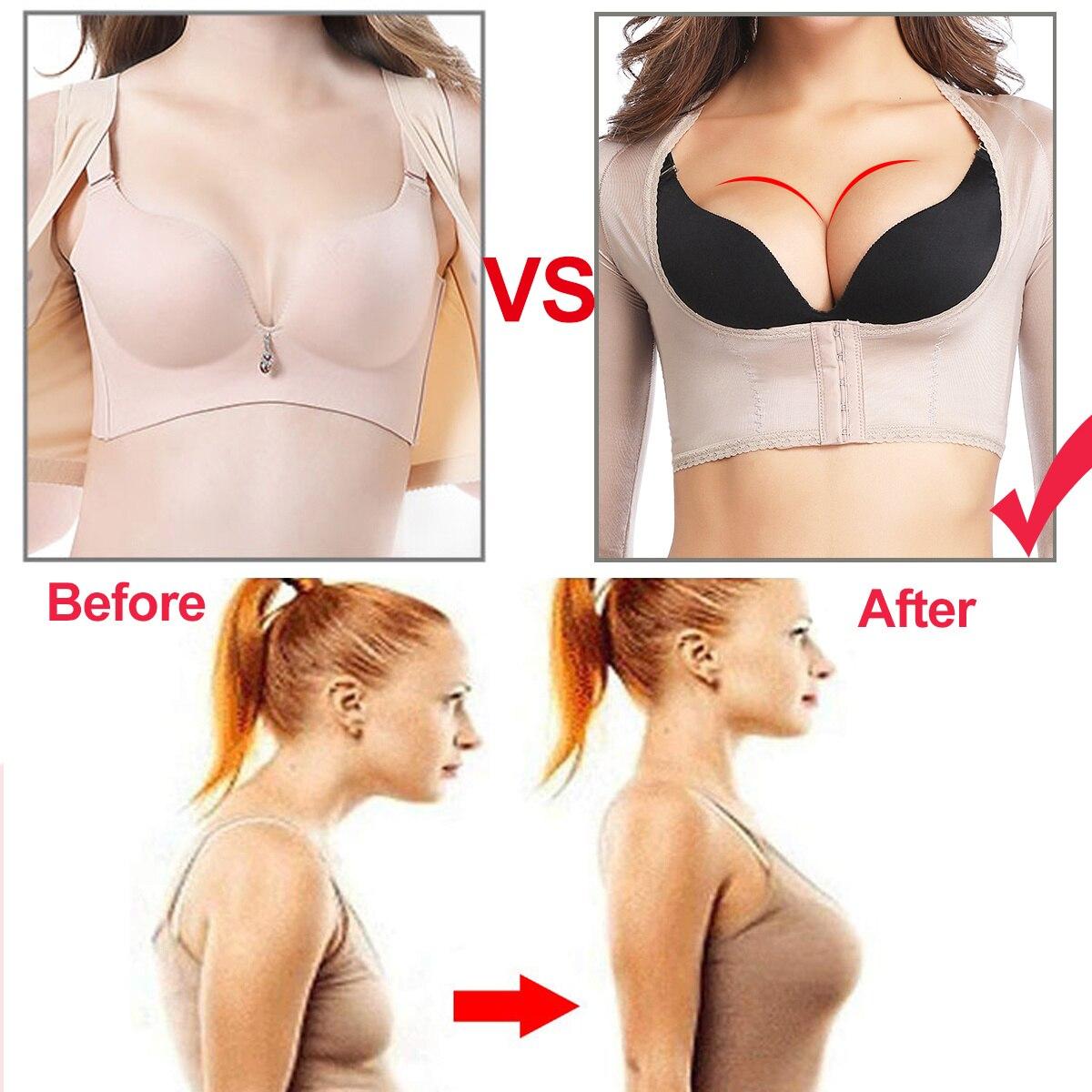 Upper Arm Slimming Sleeve Shaper Shoulder Back Posture Corrector WST