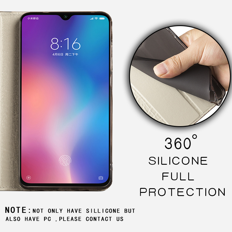 Image 5 - Leather Phone Case For Xiaomi Redmi Note 9s 8 7 Pro 4x K30 Mi 9 9se 10 9T pro A2 lite A3 Max 2 3 Mix 3 Poco F1 X2 Magnetic CoverFlip Cases   -