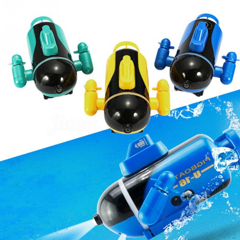 Мини радиоуправляемая подводная лодка с дистанционным управлением, Дрон, пчелиная лодка, имитационная модель, подарок, высокоскоростная радиоуправляемая лодка, модель для детей