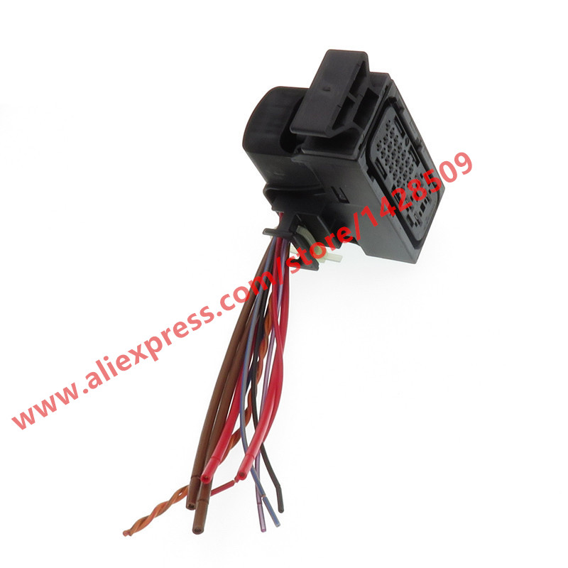 25 Pin Automotive Wiring Harness DQ200 0AM DSG Connector Plug With Cables 1K0 973 213 1K0973213 For Audi VW Beetle Golf