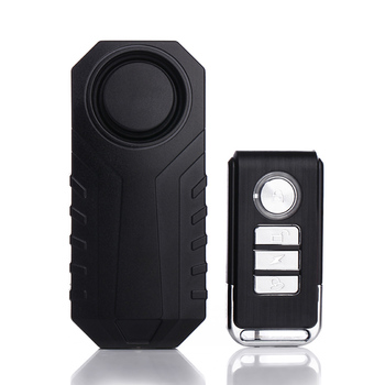 Wireless Car & Bike Alarm Anti-Theft Vibration Remote Starline