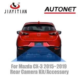 JIAYITIAN камера заднего вида для Mazda CX-3 CX-3 2015 2016 2017 оригинальный заводской Кабель-адаптер для экрана/комплект резервная парковочная камера