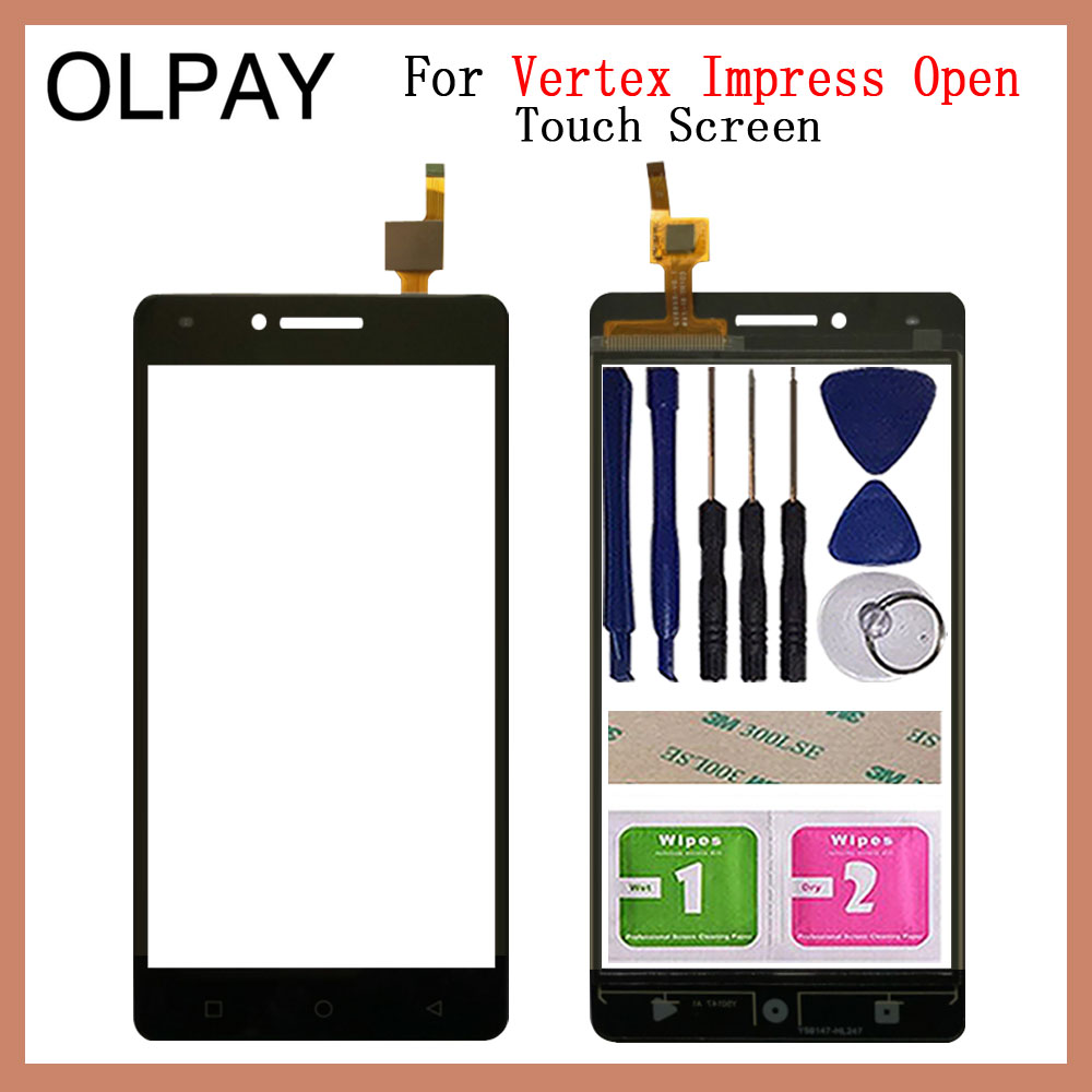 Mobile Phone Touch Screen Digitizer For Vertex Impress Open 5.0