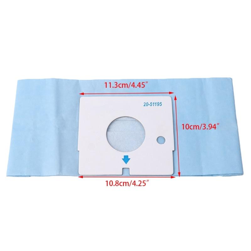 Universal Substituição Para Aspirador de pó Saco De Pó de Papel Descartável C-13 V-3700Y