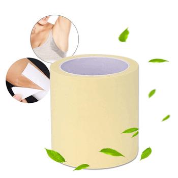 1 rolka jednorazowe pod pachami zapobiegają wkładki przeciwpotowe przezroczyste pod pachami suche suche antyperspirant naklejki zachować suche naklejki TSLM2 tanie i dobre opinie NoEnName_Null Unisex CN (pochodzenie) CHINA Pot pad One roll YQ86765 prevent oysters sweat Deodorant Approx 7 2 * 600 cm 2 83 * 236 inch