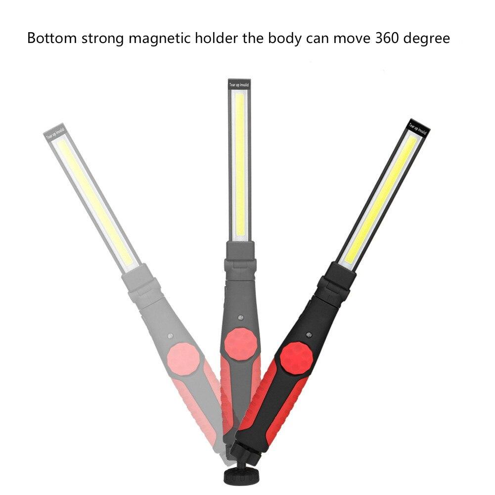 New COB Carga Multifuncional Lanterna Lâmpada Ao