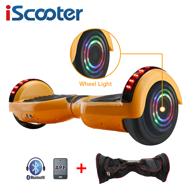 UL2722 6.5 inch Hoverboard or Electric Skateboard with steering-wheel and self Balancing Feature 21