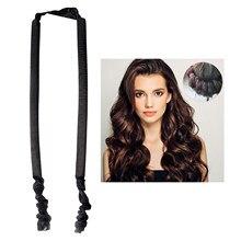 1pc espuma esponja cachos ferramenta penteado ondulado sono tipo espuma esponja cabelo encaracolado macio moda