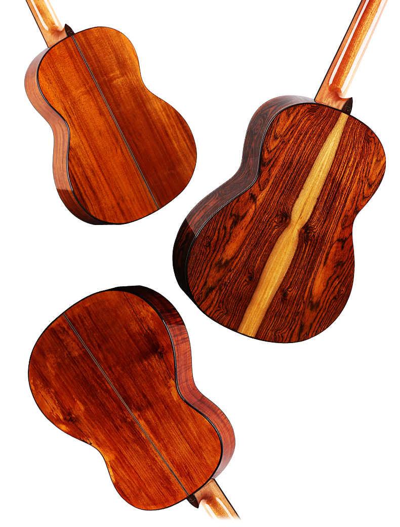 Dadarwood HDC-62 solid top guitarra clásica, guitarra clásica, guitarras clásicas