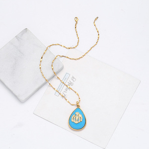 Image 4 - Urkish Lira Coin New Allah Necklaces for Women/Girls Traditional Nation Arab Jewelry Turkey Iraqi Muslim Pendant