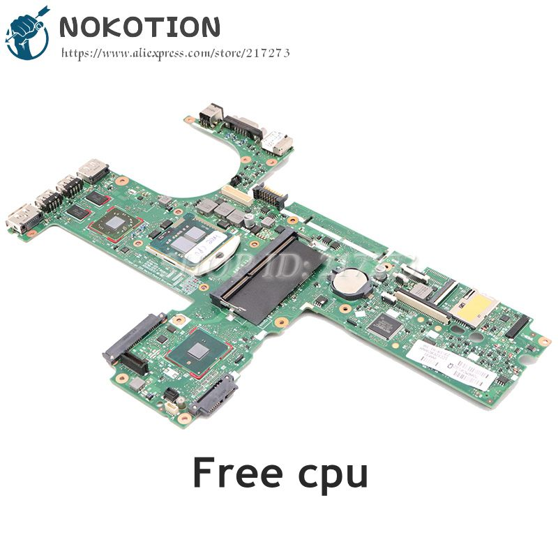 NOKOTION For HP Probook 6450B 6550B Laptop Motherboard 6050A2326701-MB-A02 613298-001 HM57 DDR3 HD4500 GPU Free Cpu