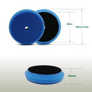Image 4 - Polieren Schwamm Pad 3 Inch Platz Auto Polieren DISC Wachsen Schwamm Kit für auto polierer maschine