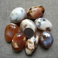 Natural Madagascar Ocean Chalcedony Agate Crystal  Stone Decoration