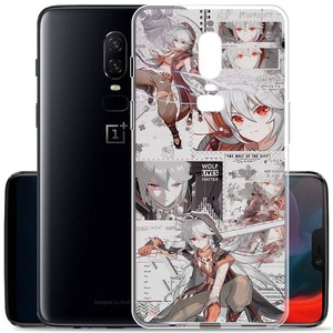 Image 5 - Genshin Impact Transparent Soft TPU Phone Case for OnePlus 9 8T 5T 7T 7 Pro 6 6T 5 3 8 Nord N10 N100 Cover Coque Funda Capa