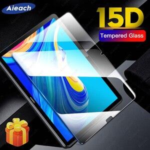 Protetor de tela para huawei mediapad m5 lite m3 t5 10 8.0 15d vidro temperado para huawei mediapad m6 m5 10.8 8.4 película protetora