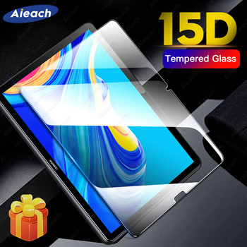 Screen Protector For Huawei MediaPad M5 Lite M3 T5 10 8.0 15D Tempered Glass For Huawei MediaPad M6 M5 10.8 8.4 Protective Film