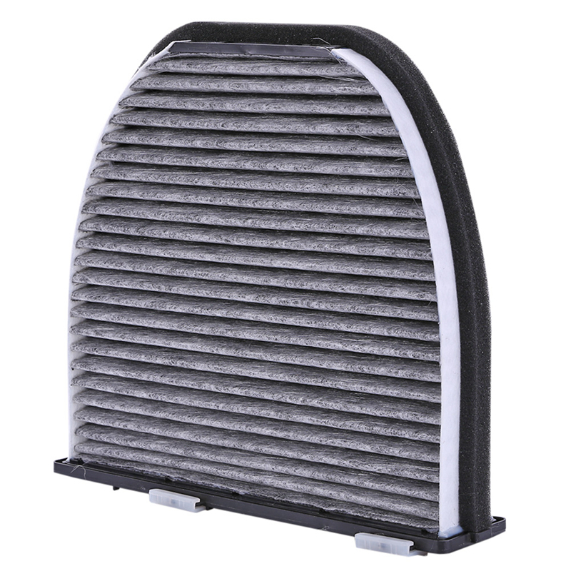 VODOOL Activated Carbon Car Replacement Cabin Filter Auto Air Conditioner Cleaner Filter For Mercedes Benz W204 W212 2128300318 Cabin Filter     - title=
