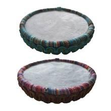 Деревянная Ткань для вышивания бисером коврик доски лоток бусины